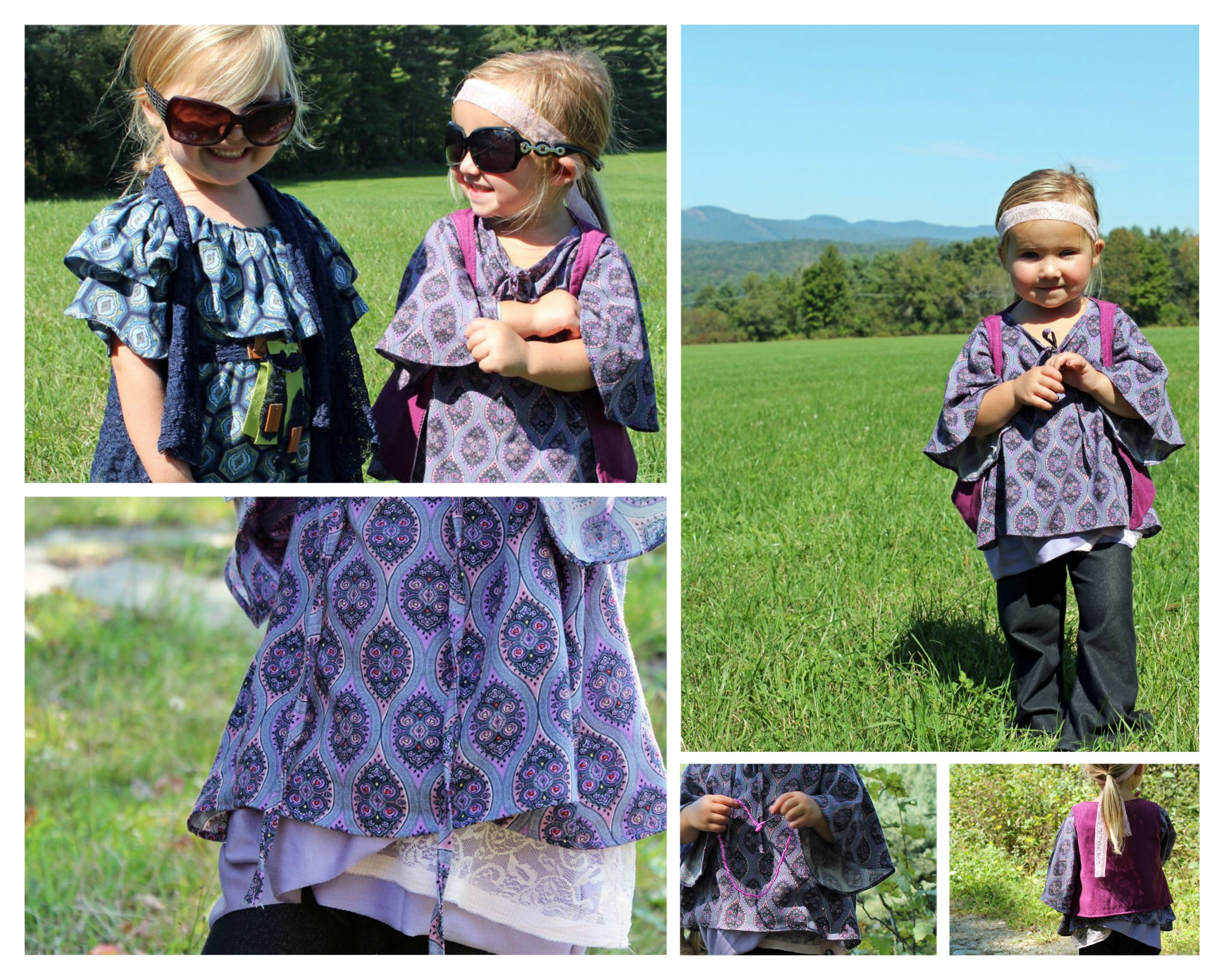 Boho Chic Kids Clothing have the boho chic style