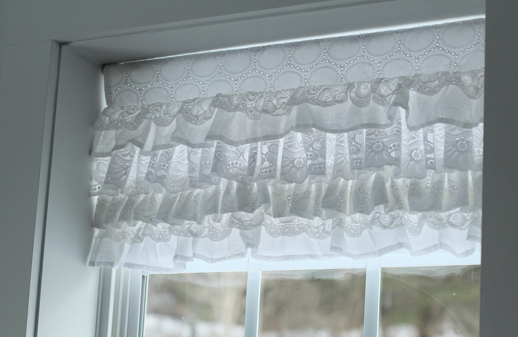 Layered Lace Valance by 2 Little Hooligans