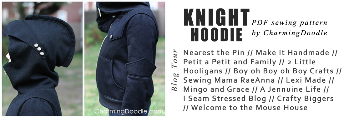 Today I have the pleasure of being the next stop on the Knight Hoodie