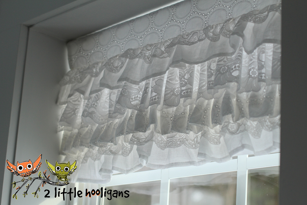 Layered Lace Valance