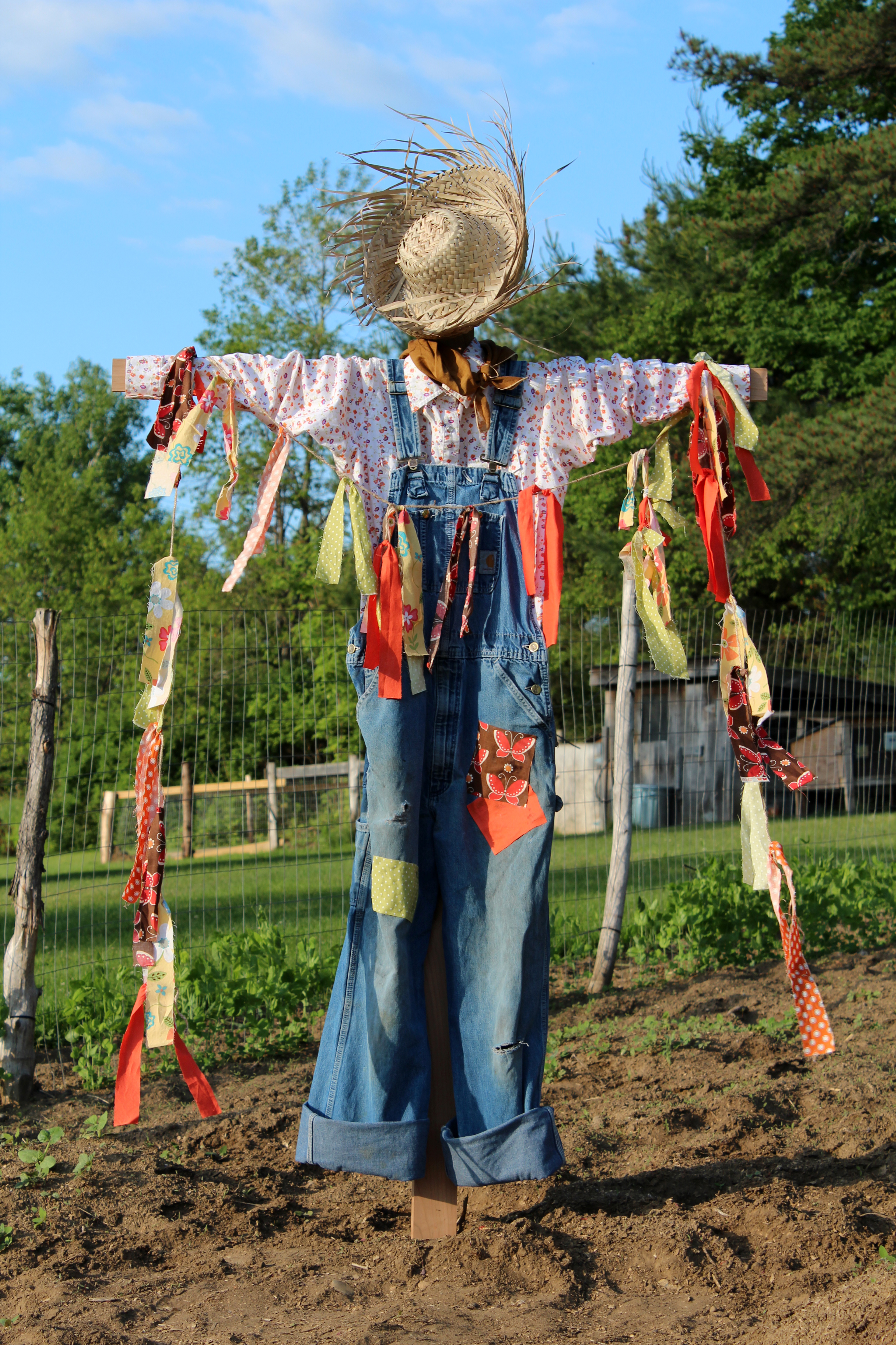 How to Make a Scarecrow.